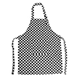 Opromo (precio/6piezas) colores lona de algodón niños delantales con bolsillo, artista delantal y delantal de chef (S, M, L, XL y XXL) - -