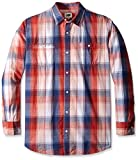 Lee Men's Big-Tall Textured Worker Plaid...