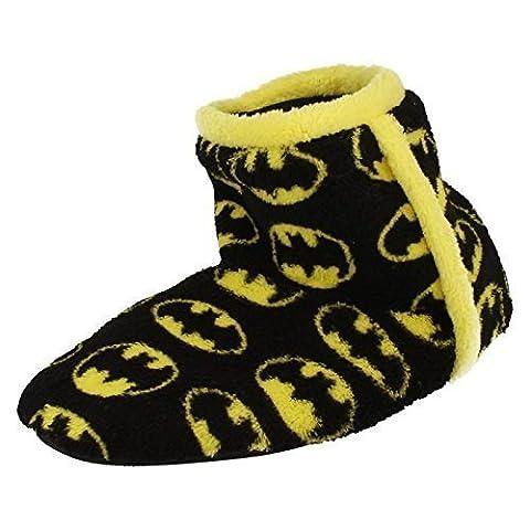 Batman Chaussures Enfant - Garçons Enfants Chaussons Bottines nouveauté Batman Polaire