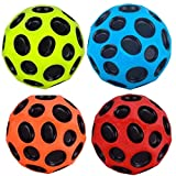 #8: Xcords 2018 Moon Bounce Ball Set, Spin and a Unique Popping Sound and Best Gift for Boys and Girl (Multicolour) (3 Pieces)