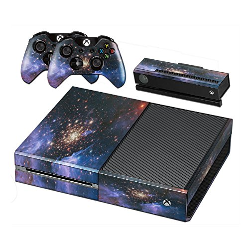 milky-way-skin-sticker-vinyl-cover-with-leather-effect-laminate-and-colorful-design-for-xbox-one