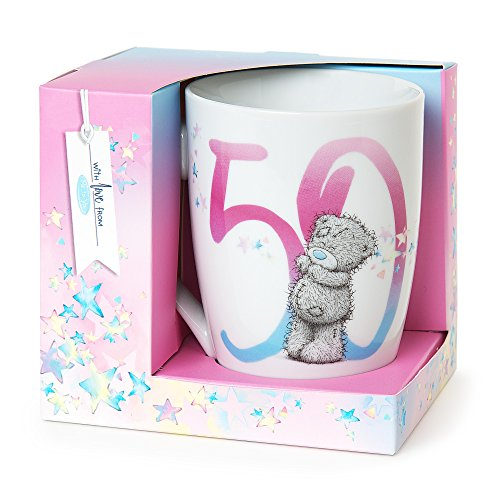 Me to You 50th Birthday Mug in Colourful Gift Box
