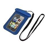 Wasserdicht-Schutz-Fall-trockene Beutel-Abdeckungs-Beutel-Blau für Handy