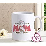 TiedRibbons Mothers Day Gifts | Mothers Day Gifts From Daughter | Mothers Day Gifts From Son | Mothers Day Special Gifts | Coffee Mug(320ml) With Mothers Day Special Wooden Tag
