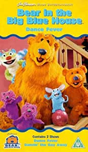 Bear In The Big Blue House Dance Fever Vhs Noel