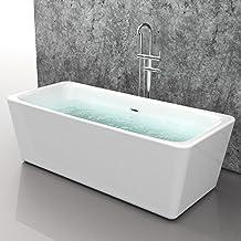 Suchergebnis auf Amazon.de für: Badewanne Freistehend Günstig | {Freistehende badewanne maße 66}