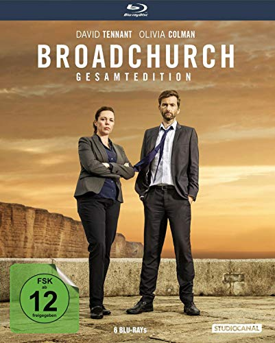Broadchurch / Staffel 1-3 / Gesamtedition [Blu-ray]