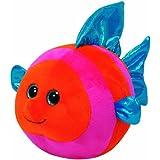 TY 38131 - Splashy - Fisch, Durchmesser 12 cm, orange/blau