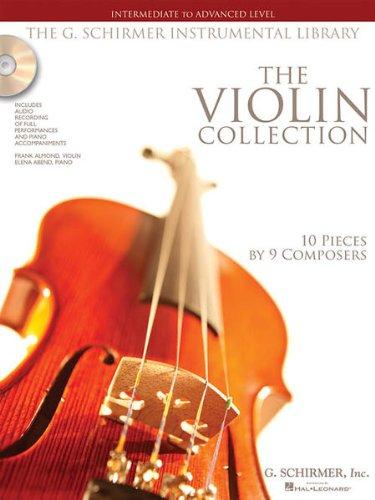 THE VIOLIN COLLECTION - arrangiert für Violine - Klavier - mit CD [Noten / Sheetmusic] aus der Reihe: SCHIRMER INSTRUMENTAL LIBRARY