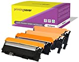 Printing Saver CLT-4072S NOIR (1) CYAN (1) MAGENTA (1) JAUNE (1) toners compatibles pour SAMSUNG CLP-320 CLP-320N CLP-325 CLP-325N CLP-325W CLX-3180 CLX-3180FN CLX-3185 CLX-3185FN CLX-3185FW CLX-3185N