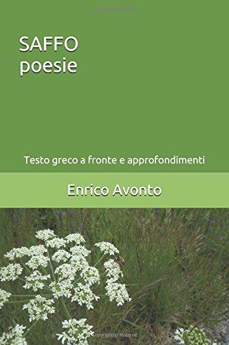 SAFFO poesie: Testo greco a fronte e approfondimenti