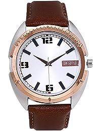 Horra Eco Series Silver Dial Analog Watch For Men - HR717MLS84