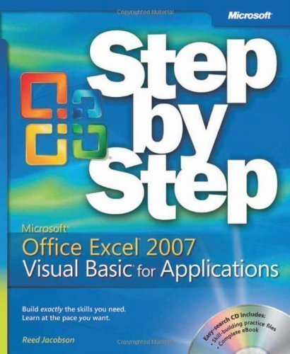 Microsoft? Office Excel? 2007 Visual Basic? for Applications Step by Step (BPG-step by Step) by Jacobson, Reed [Paperback(2007/5/16)]