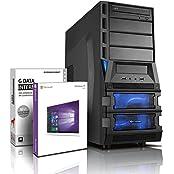 Ultra 6-Kern DirectX 12 Gaming-PC Computer FX 6100 6x3.90 GHz Turbo - GeForce GTX1050 2GB DDR5 - 8GB DDR3 1600 - 2TB HDD - Windows10 Prof - DVD±RW #5261
