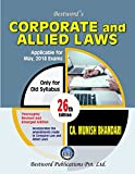 #3: Bestword's Corporate And Allied Laws 26th Edition Jan -2018, Old Syllabus for CA Final By CA Munish Bhandari applicable for May 2018 Exam