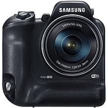 """Samsung WB2200F - Cámara digital de 16.3 Mp (pantalla de 3"""", zoom óptico 60x, estabilizador óptico, vídeo Full HD), negro"""
