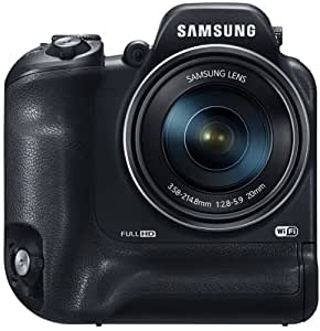 Samsung WB2200F Digitalkamera (16 Megapixel, 60-fach opt. Zoom, 7,6 cm (3 Zoll) Display, Full HD Video, Wi-Fi) schwarz