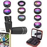 Best Cell Phone Cameras - Phone Lens Kit, 10 in 1 Cell Phone Review