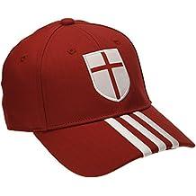 adidas gorra para niños AC Milan 3-Stripes, rojo S04/blanco/Craft Red F12, talla única, M60118