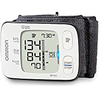 Omron BP652 Wrist Automatic blood pressure unit 1usuario(s) - Tensiómetro (AA, LCD)