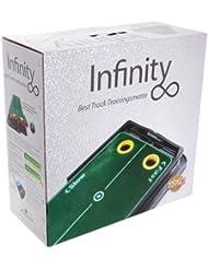 Best 11560 Infinity - Minigolf para entrenar (50 x 270 cm, incluye marco articulado y limpiador para estera)
