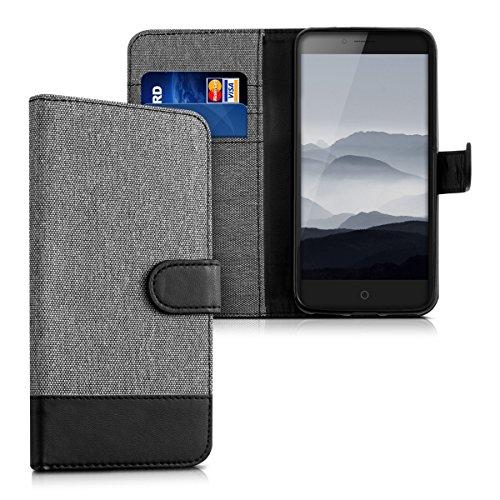 kwmobile Wallet Case Schutzhülle für ZTE Blade V7 (5.2
