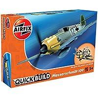 Airfix J6001 Quick Build Messerschmitt Bf109e Aircraft Model Kit