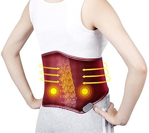 Power Generation Hitze Schutz Gürtel Elektrische Vibration Taille Massage Abnehmen Gürtel Multifunktions Einstellbare Körper Trimmen Taille Recover Body Shaper (Power Body Shaper)