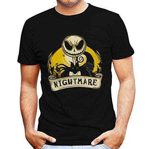 (My Nightmare Before Christmas Men's T-Shirt)
