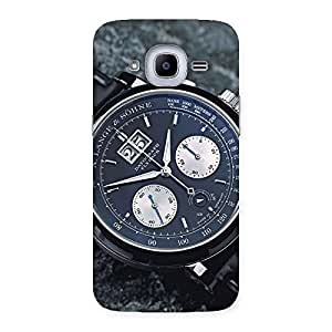 Classic Wrist Watch Back Case Cover for Samsung Galaxy J2 2016