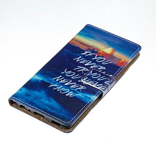 Custodia Huawei P9 Lite Pelle, Huawei P9 Lite Cover, Retro Anti-scratch Foglio Pelle Portafoglio Wallet Carta di Credito Cover Flip Stand Sottile Magnetico Internamente Silicone TPU Card Slot Case Cov model 04