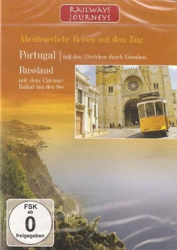 Railways Journeys - Abenteuerliche Reisen mit dem Zug - Portugal, mit dem Zug durch Lissabon - Russland, mit dem Circum-Baikal um den See