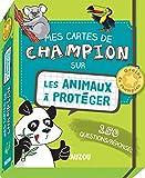 Mes cartes de champion - Les animaux à protéger