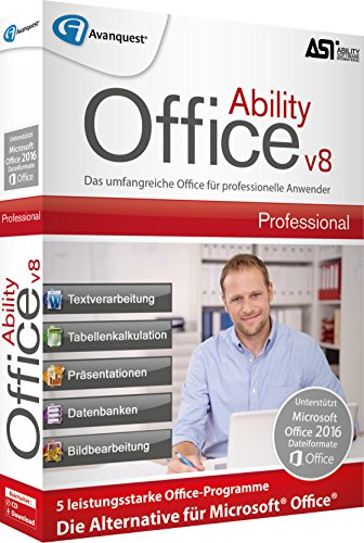 Avanquest Ability Office 8 Professional Software