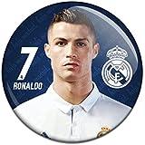 Real Madrid C.F. Button Badge Cristiano Ronaldo