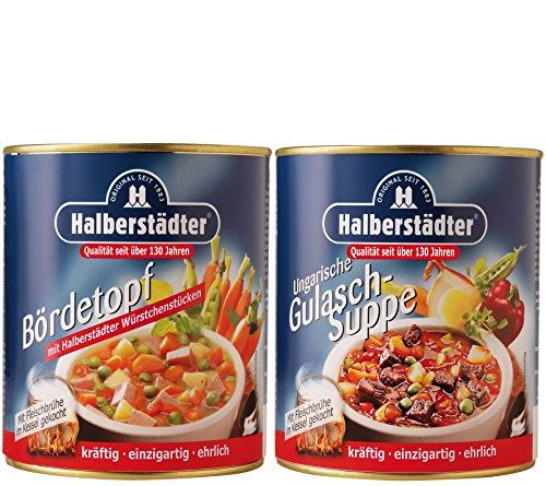 Preisvergleich Produktbild Halberstädter Bördetopf + Weiße Bohnen-Eintopf