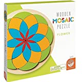 Wooden Mosaic Puzzles: Flower Game