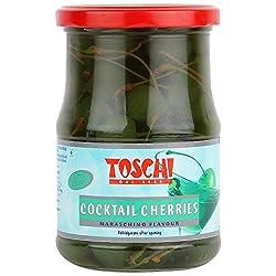 Toschi Maraschino Cherries Green, 630g