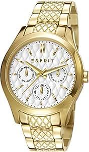 Esprit - ES107912003 - Montre Femme - Quartz Analogique - Bracelet Acier Inoxydable Doré