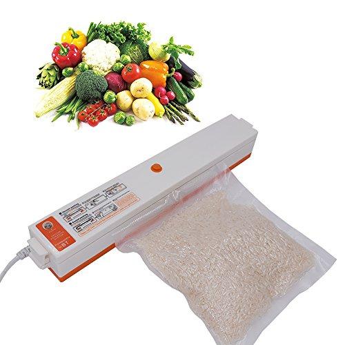 XINGDDOZ Mini-Vakuumierer ,Vollautomatisches kleines Vakuumiergerät für Hausgebrauch, Verpackungsmaschine für Hausgebrauch zur Längerung der Lebensmittelhaltbarkeit (Vakuumierer)
