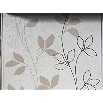 vlies tapete rasch home style creme braun beige streifen floral putz struktur 420234 floral. Black Bedroom Furniture Sets. Home Design Ideas