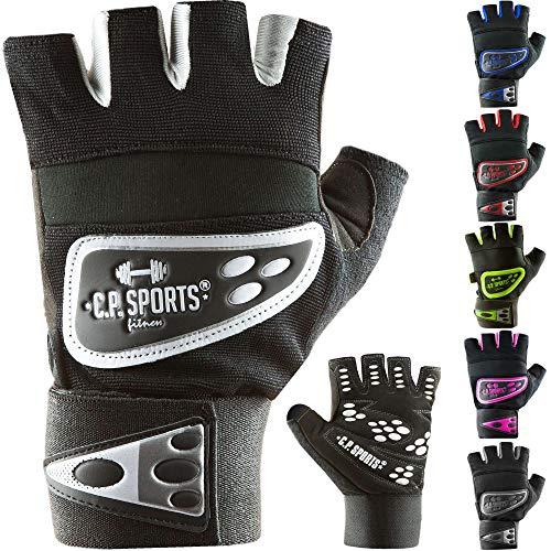 C.P. Sports Profi-Grip-Bandagen-Handschuh - farbig, bunt, Fitness - Handschuh pink S
