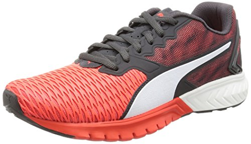 Puma Ignite Dual, Scarpe da Corsa Unisex – Adulto, Rosso (Red Blast-Asphalt 01), 42 EU (8 UK)