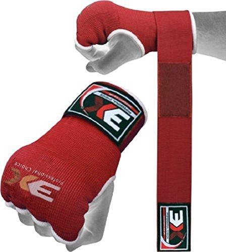 3X Sports Boxbandagen Elastisch Bandage Hand Wraps Handschuhe Kampfsport Innenhandschuhe Boxen UFC (Ufc Gel Wrap)