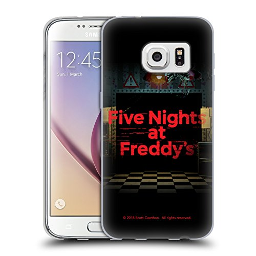 Official Five Nights At Freddy's Game 2 Logos Soft Gel Case for Samsung Galaxy S7