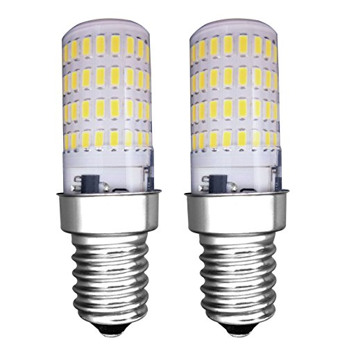 MZMing [2 Piezas] E14 Pequeño LED Bulbo 4W Bombillas Nevera - Dimmable...