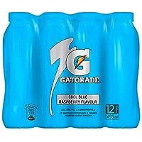 Gatorade Electrolyte Sports Drink, Cool Blue Raspberry, 12 x 495 ml