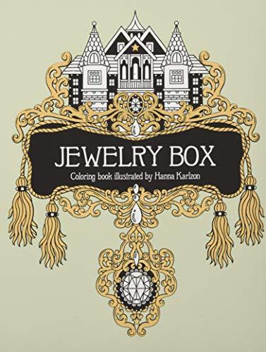 Jewelry Box Coloring Book (Colouring Books) por Hanna Karlzon