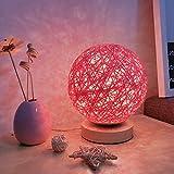 Kleine Nacht Lampe Schlafzimmer Stecker Nachttischlampe Creative Dream Fütterung energiesparende Lade Schreibtischlampe, Rosa