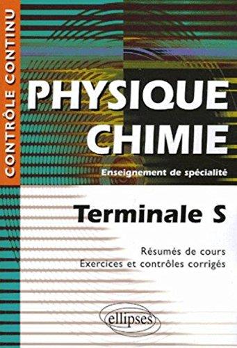 Physique Chimie Tle S Enseignement de spécialité par Anthony Le Moal, Daniel Thouroude